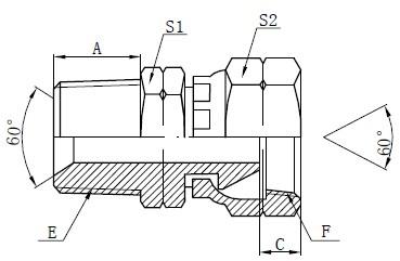 Gambar Fiting Adaptor NPSM